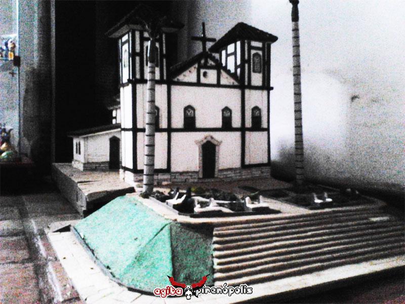 Maquete da Igreja Nossa Senhora do Rosário