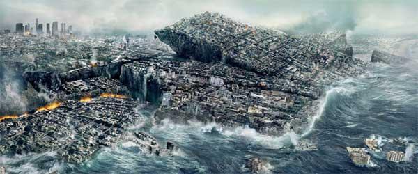 """Cena do filme """"2012"""" (2009) da Columbia Pictures."""