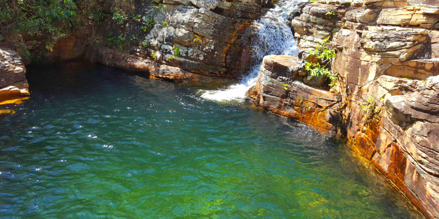 Cachoeira Paraiso em Pirenópolis