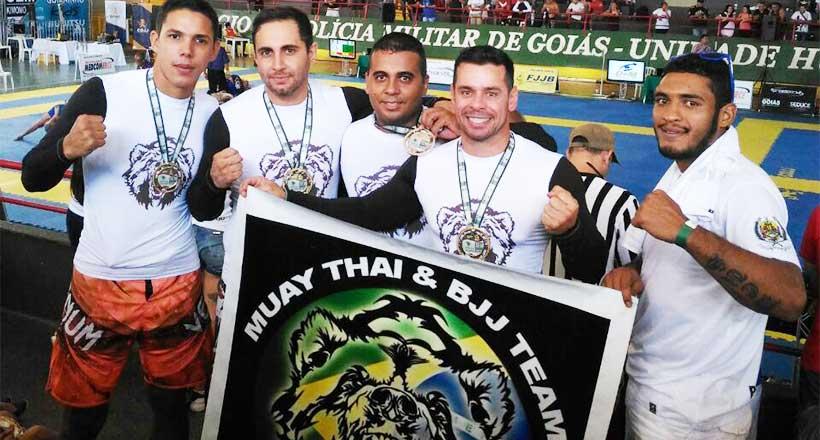 Pirenopolinos conquistam medalhas no Campeonato de Jiu Jítsu 2017