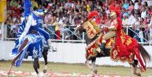 O que falam os cavaleiros durante as Cavalhadas?