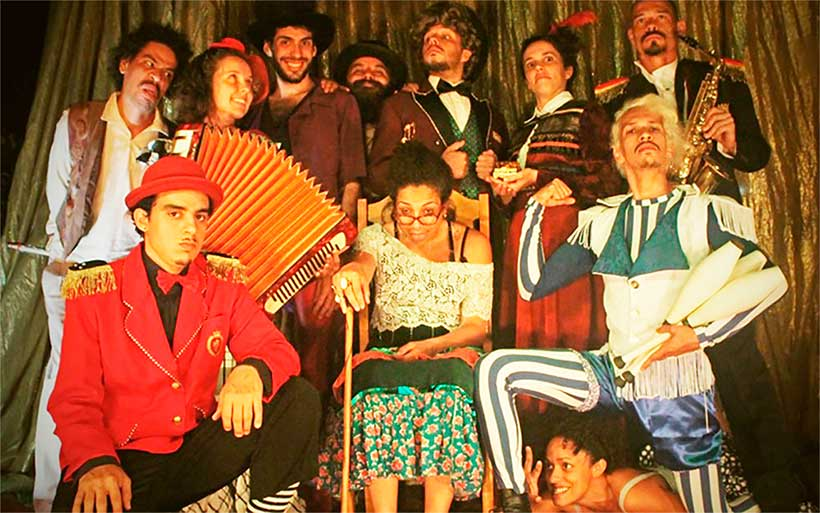 Circo Tapa Beco - Caravana do Ouro 2017 em Pirenópolis