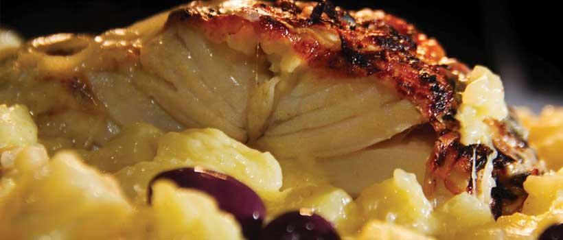 Festival Brasil Sabor - Restaurante Aravinda - Prato: Bacalhau com Batatas ao murro