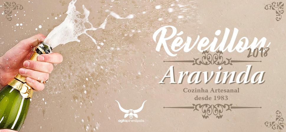 Aravinda Cozinha Artesanal - Réveillon 2018
