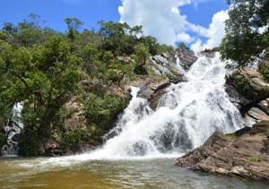 Cachoeira do Lázaro e de Santa Maria - Agita Pirenópolis