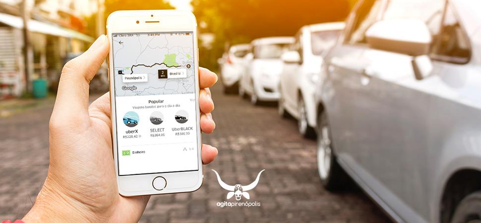 Descubra quanto custa uma viagem para Pirenópolis utilizando a Uber.