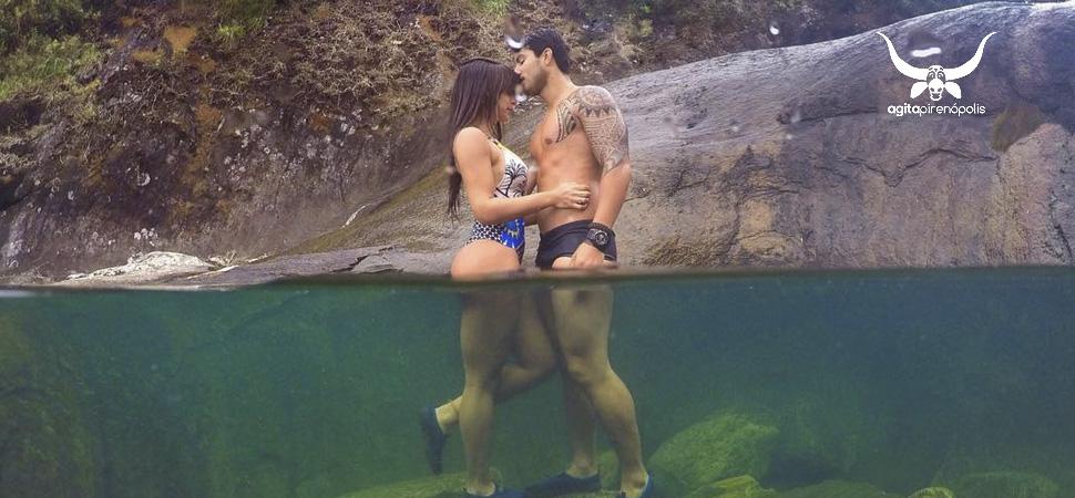 Aproveite as cachoeiras de Pirenópolis para bombar seu Instagram publicando fotos com efeito aquário