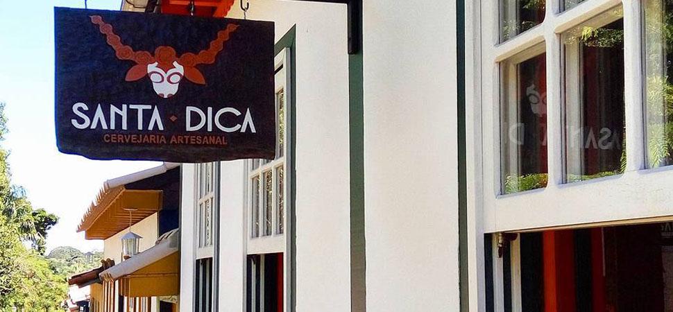 4 lugares para beber cerveja gelada e barata em Pirenópolis - Cervejaria Santa Dica