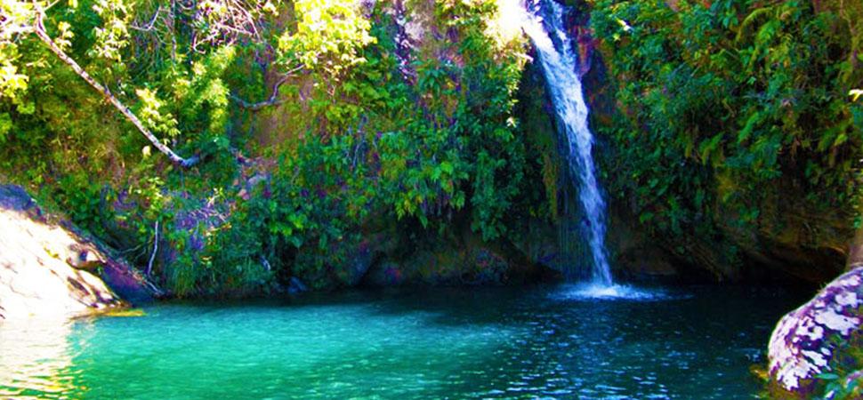 Bate e volta a Pirenópolis: Cachoeira Bonsucesso