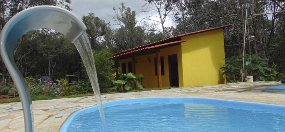 Hospedagem na zona rural de Pirenópolis - Recanto Três Irmãos