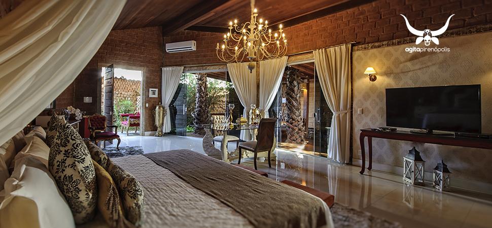 Hotel em Pirenópolis está entre os 25 mais românticos da América do Sul