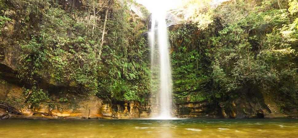 Descubra as 5 melhores cachoeiras em Pirenópolis - Cachoeira do Abade
