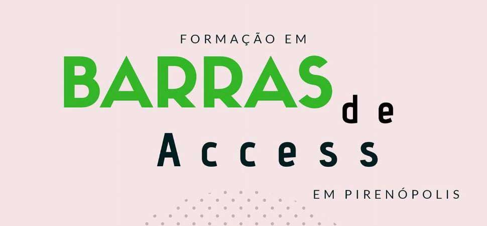 Evento técnico terapêutico de Formação em Barra de Access em Pirenópolis