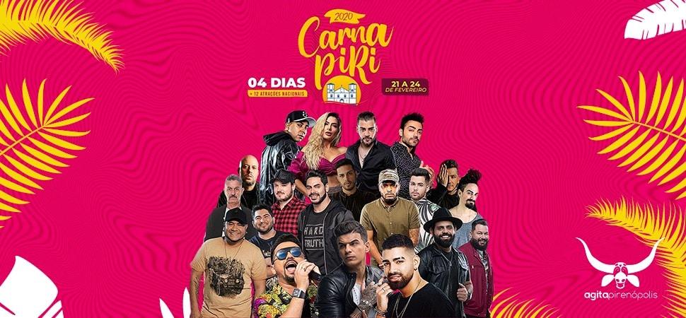 Carnaval em Pirenópolis 2020 - Carna Piri