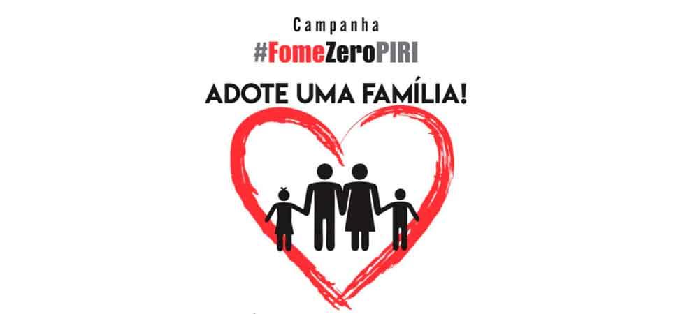 Pirenopolinos se mobilizam para ajudar na Campanha Fome Zero Piri.