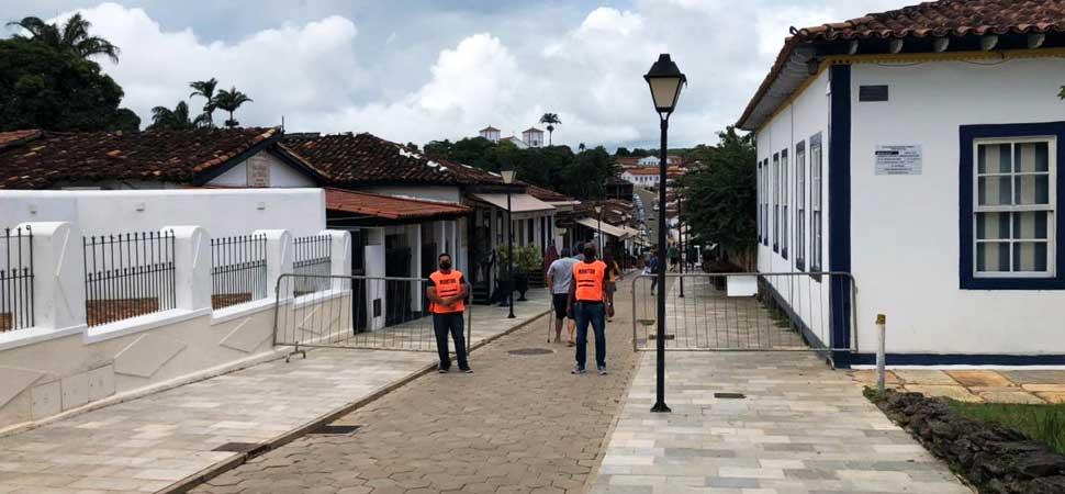 Empresários da Rua do Lazer fazem ação contra Covid-19 em Pirenópolis
