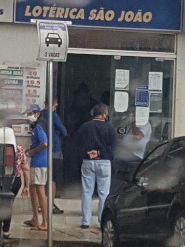 Estado decreta lockdown e Polícia Militar faz intervenção em Pirenópolis lotérica