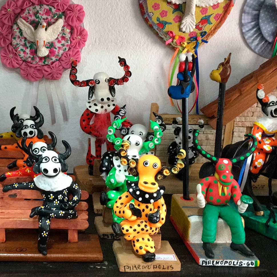 Lugares para encontrar artesanato em Pirenópolis