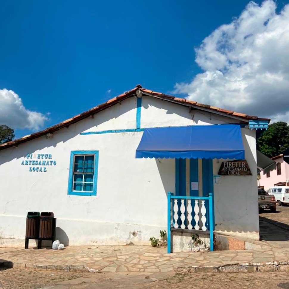 Lugares para encontrar artesanato em Pirenópolis Piretur