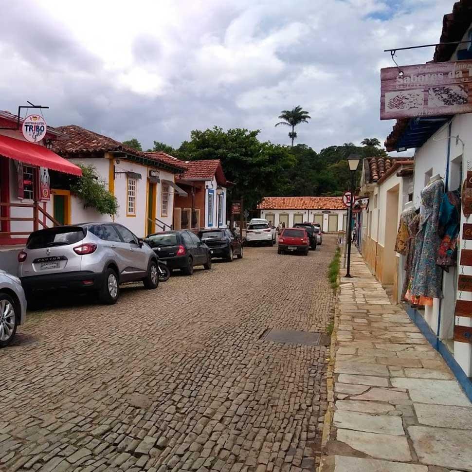 Lugares para encontrar artesanato em Pirenópolis Rua Rui Barbosa