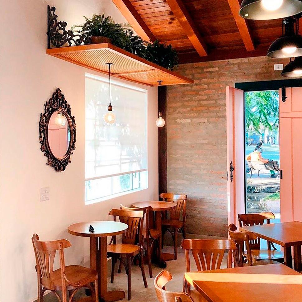 O clima esfriou em Pirenópolis e a Valenttine Café é uma ótima opção