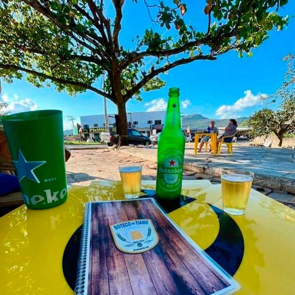 Onde beber cerveja gelada e barata em Pirenópolis